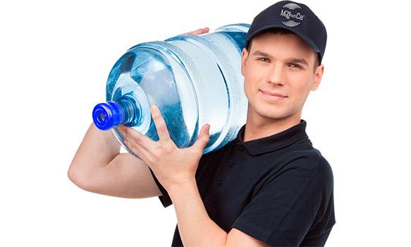 Доставщик воды